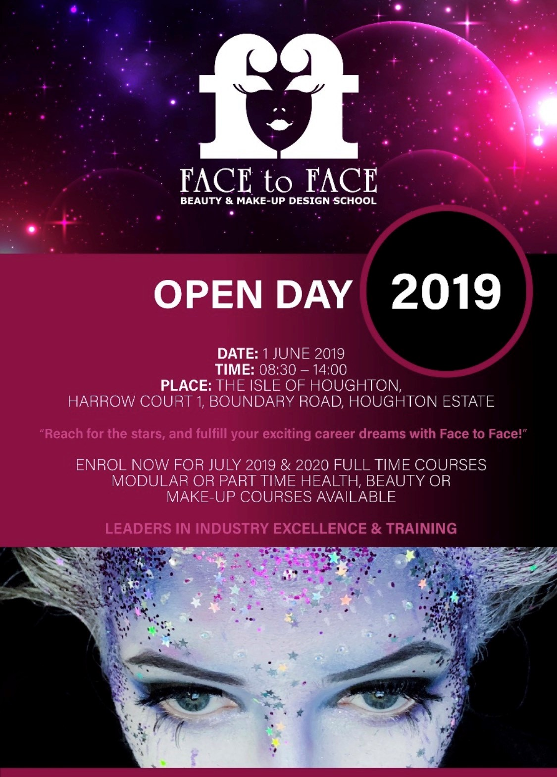 Face to Face Open Day 2019
